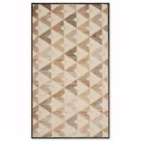 Safavieh Paradise Modern 3-Foot 3-Inch x 5-Foot 7-Inch Rug in Soft Anthracite/Cream
