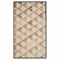 Safavieh Paradise Modern 4-Foot x 5-Foot 7-Inch Rug in Soft Anthracite/Cream