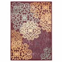 Safavieh Paradise Large Floral 8-Foot x 11-Foot 2-Inch Rug in Red
