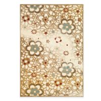 Safavieh Paradise Garden 4-Foot x 5-Foot 7-Inch Rug in Taupe/Beige