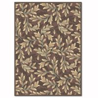 Safavieh Paradise Foliage 5-Foot 3-Inch x 7-Foot 6-Inch Rug in Light Brown