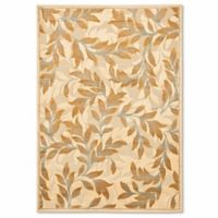 Safavieh Paradise Foliage 8-Foot x 11-Foot 2-Inch Rug in Creme