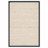 Safavieh Natural Fiber Olivia 2-Foot 6-Inch x 4-Foot Area Rug in Marble/Black