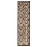 Safavieh Paradise 2-Foot 2-Inch x 8-Foot Euron Area Rug in Soft Anthracite/Cream