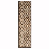 Safavieh Paradise 2-Foot 2-Inch x 8-Foot Euron Area Rug in Creme/Brown