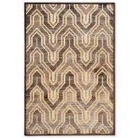 Safavieh Paradise 4-Foot x 5-Foot 7-Inch Euron Area Rug in Creme/Brown