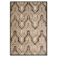 Safavieh Paradise 4-Foot x 5-Foot 7-Inch Euron Area Rug in Soft Anthracite/Cream