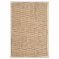 Safavieh Natural Fiber Johanna 2-Foot 6-Inch x 4-Foot Accent Rug in Natural/Ivory