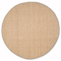 Safavieh Natural Fiber Johanna 6-Foot Round Rug in Natural/Grey
