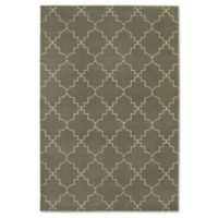Oriental Weavers Ellerson Posh 6-Foot 7-Inch x 9-Foot 6-Inch Area Rug in Grey