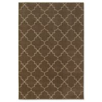 Oriental Weavers Ellerson Posh Area 6-Foot 7-Inch x 9-Foot 6-Inch Rug in Brown