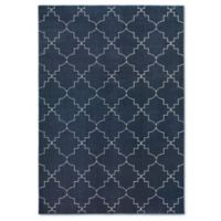 Oriental Weavers Ellerson Posh 6-Foot 7-Inch x 9-Foot 6-Inch Area Rug in Navy