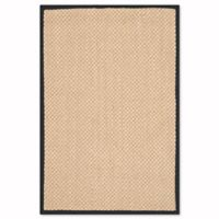 Safavieh Natural Fiber Willow 2-Foot x 3-Foot Accent Rug in Maize/Black