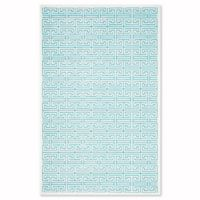 Safavieh Paradise 4-Foot x 6-Foot Adrianne Area Rug in Ivory/Turquoise