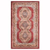 Safavieh Bijar Urmia 4-Foot x 6-Foot Area Rug in Red/Rust