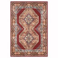 Safavieh Bijar Urmia 5-Foot 3-Inch x 7-Foot 6-Inch Area Rug in Red/Rust