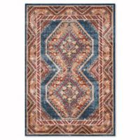 Safavieh Bijar Urmia 6-Foot 7-Inch x 9-Foot Area Rug in Royal/Rust