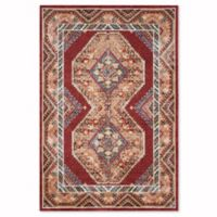 Safavieh Bijar Urmia 6-Foot 7-Inch x 9-Foot Area Rug in Red/Rust