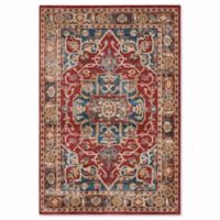 Safavieh Bijar Tehran 6-Foot 7-Inch x 9-Foot Area Rug in Red/Royal