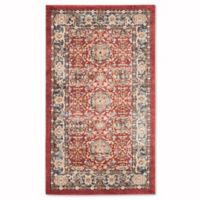 Safavieh Bijar 4-Foot x 6-Foot Tabriz Rug in Red