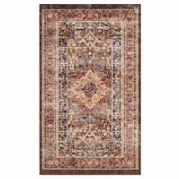 Safavieh Bijar Sari 4-Foot x 6-Foot Area Rug in Brown/Rust