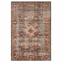 Safavieh Bijar Sari 6-Foot 7-Inch x 9-Foot Area Rug in Brown/Rust