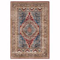 Safavieh Bijar Kermin 6-Foot 7-Inch x 9-Foot Area Rug in Royal/Brown