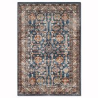 Safavieh Bijar 5-Foot 25-Inch x 7-Foot 5-Inch Gorgan Rug in Royal/Ivory