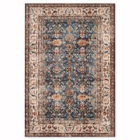 Safavieh Bijar Babol 6.5-Foot x 9-Foot Area Rug in Royal/Ivory