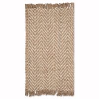 Safavieh Natural Fiber Lizette 3-Foot x 5-Foot Area Rug in Bleach/Natural