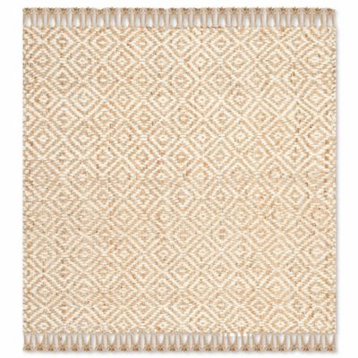 Safavieh Natural Fiber Brie 6 Foot Square Area Rug In Natural/Ivory