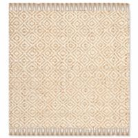 Safavieh Natural Fiber Brie 6-Foot Square Area Rug in Natural/Ivory