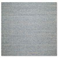 Safavieh Natural Fiber Penelope 6-Foot x 6-Foot Area Rug in Blue/Ivory