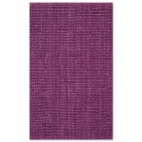 Safavieh Natural Fiber Mallory 2-Foot 6-Inch x 4-Foot Accent Rug in Purple