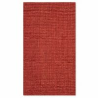 Safavieh Natural Fiber Mallory 2-Foot 6-Inch x 4-Foot Accent Rug in Rust