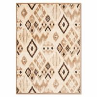 Safavieh Paradise Navajo 5-Foot 3-Inch x 7-Foot 6-Inch Rug in Taupe/Cream