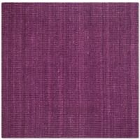 Safavieh Natural Fiber 8-Foot x 8-Foot Mallory Square Rug in Purple
