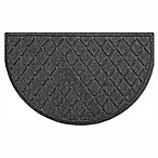 Weather Guard™ Argyle Slice Floor Mat in Charcoal
