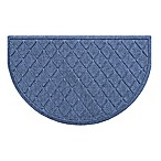 Weather Guard™ Argyle Floor Mat in Navy
