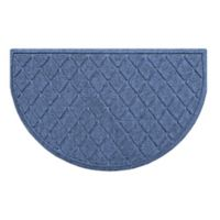 Weather Guard™ Argyle Floor Mat in Navy