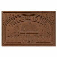 Weather Guard Welcome Cabin Floor Mat In Dark Brown
