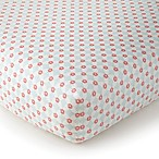 Levtex Baby Emma Fitted Crib Sheet in Pink