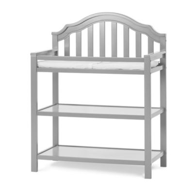 Changing Tables U003e Child Craft™ Penelope Changing Table In Cool Grey