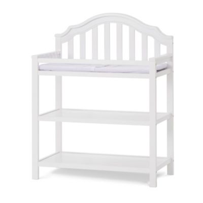 Changing Tables U003e Child Craft™ Penelope Changing Table In Matte White