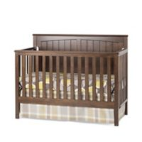 Craft Child™ Sheldon 4-in-1 Convertible Crib in Slate Brown