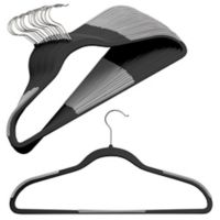 Studio 3B™ Slim Grips™ Hangers in Black (Set of 16)