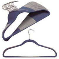 Studio 3B™ 16-count Slim Grips™ Hangers in Blue Depths