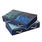 Studio 3B™ Underbed Storage Bag in Blue Depths  (Set of 2)