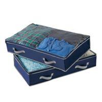 Studio 3B™ Underbed Storage Bag in Blue Depths (Set of 2)
