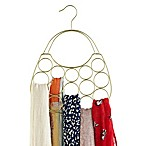 Purse-Shaped Scarf Hanger in Gold
